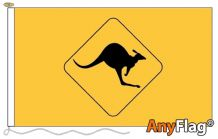 - KANGAROO SIGN ANYFLAG RANGE - VARIOUS SIZES